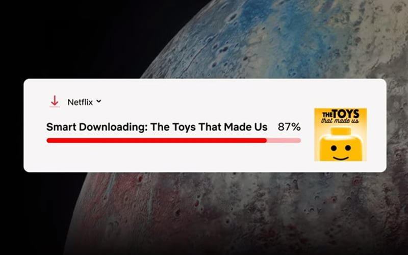 Inteligentne pobieranie na Netflix
