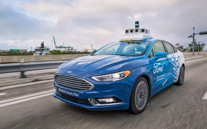 autonomiczny Ford