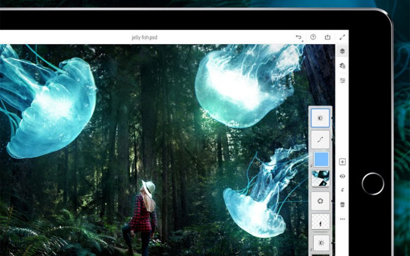 Photoshop CC na iPad