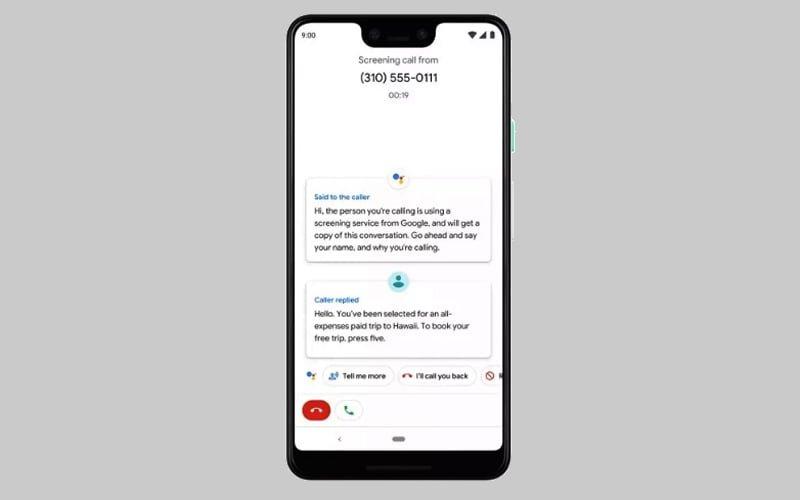 Google Call Screening