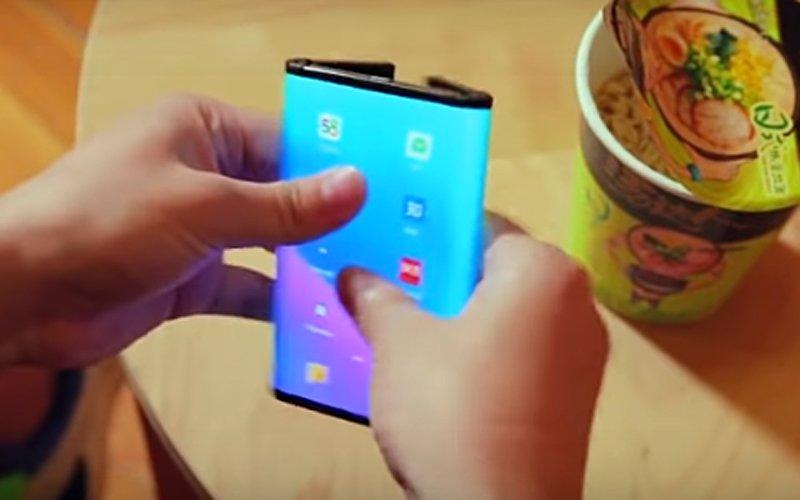 kolejne wideo składanego Xiaomi