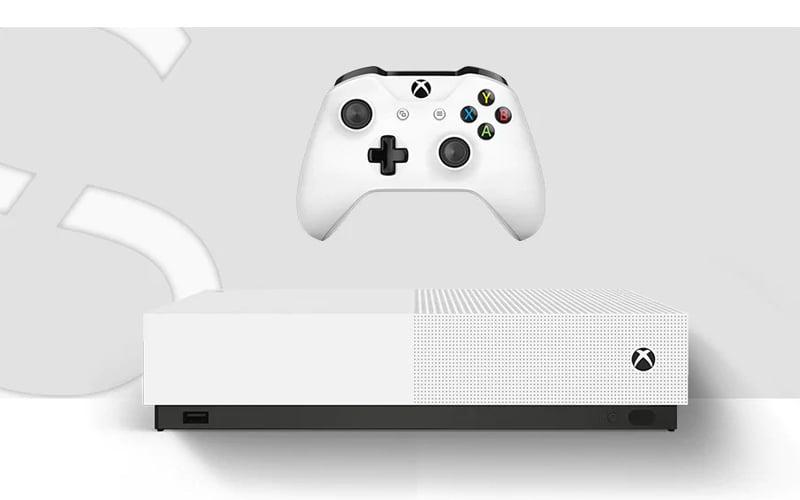 Cena Xbox One S All-Digital