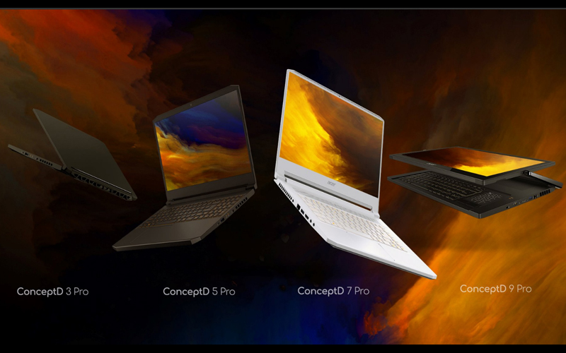 Acer ConceptD series