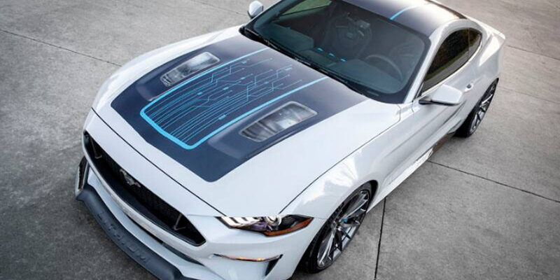 Elektryczny Mustang Lithium