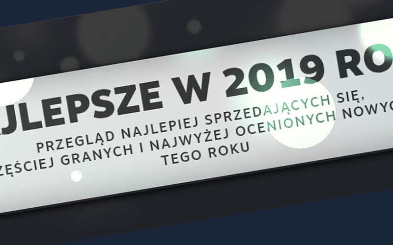 Statystyki Steam za 2019 rok